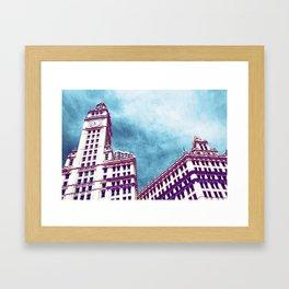 Chicago Buildings 8 Framed Art Print