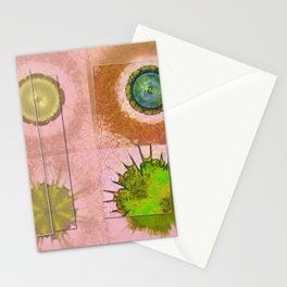 Tricksical Peeled Flowers  ID:16165-011113-25451 Stationery Cards