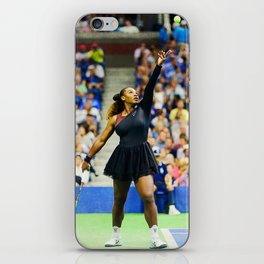 Serena Williams Serving iPhone Skin