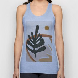 Abstract Plant Life I Unisex Tank Top