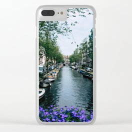 Charming Amsterdam Clear iPhone Case