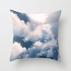 Morning Breakthrough Throw Pillow