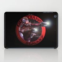 guardians of the galaxy iPad Cases featuring StarLord - Guardians of the Galaxy by Leamartes