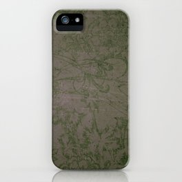 Vintage Victorian Floral iPhone Case