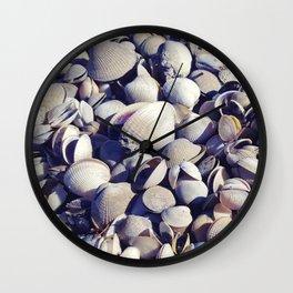 Cockle shells Wall Clock