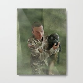 A Soldier's Heart Metal Print