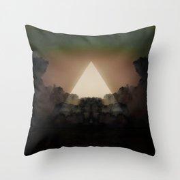 Abstract Environment 02: The Rorschach Test Throw Pillow