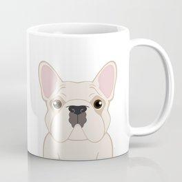 Frenchie - Cream Coffee Mug