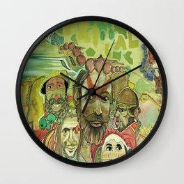 guinea Wall Clock