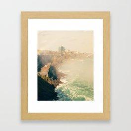 View from Horseshoe Falls, Niagara Falls, Ontario Fine Art Photography Print Framed Art Print