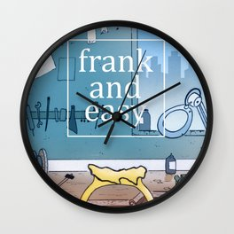Frank and Easy Wall Clock