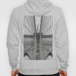 The Brooklyn Bridge and American Flag Hoody