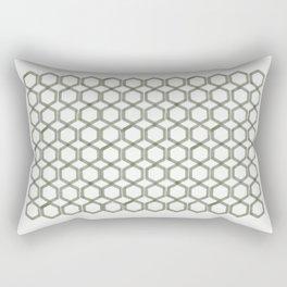Ash Honeycomb Rectangular Pillow