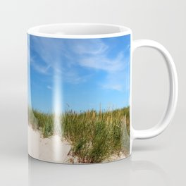 Dunes at the beach - summer holiday Island Outdoors Sea Ocean Coffee Mug