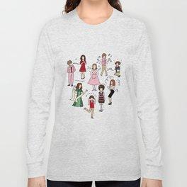 Kristen Wiig Characters Long Sleeve T-shirt