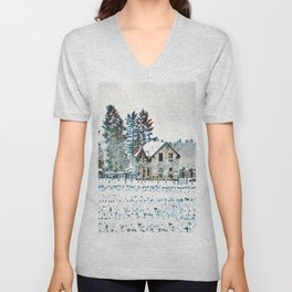A Hazy Shade Of Winter  - Graphic 1 Unisex V-Neck