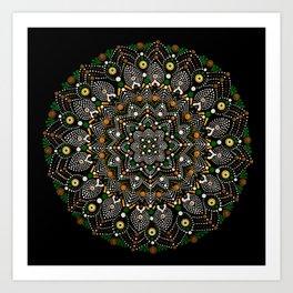 Rain Forest Energy Art Print