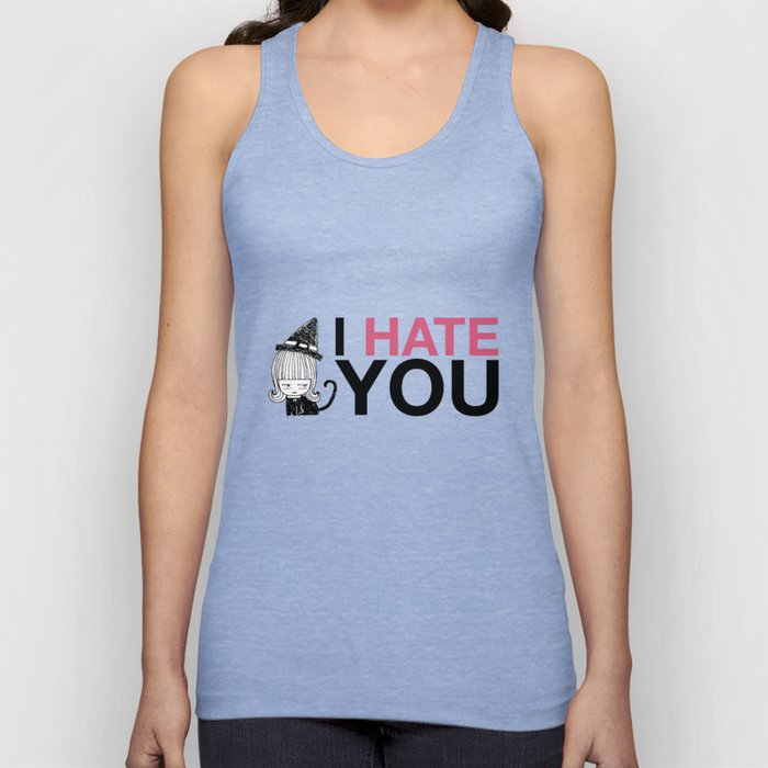 I Hate You / Witch Unisex Tank Top