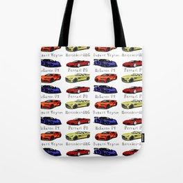 Sports cars Tote Bag