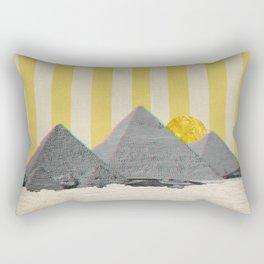 The Great Pyramids of Giza. Rectangular Pillow