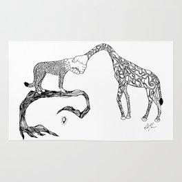 Giraffe/Cheetah Rug