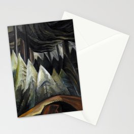 Emily Carr - Forest Light  - Canada, Canadian Oil Painting - Group of Seven Stationery Cards