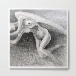 Nude Ciglee No. 05 Metal Print