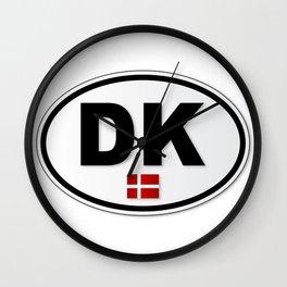 DK Plate Wall Clock