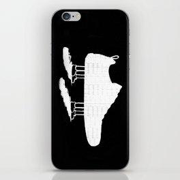 The walking shoe iPhone Skin