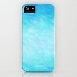 Blue Healing Waters iPhone Case