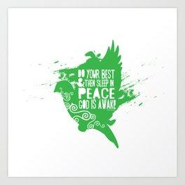 Sleep in Peace Art Print