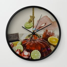 You'll Eat It And You'll Like It- Cherries Wall Clock