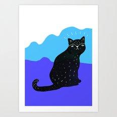 Cats Life 2 Art Print