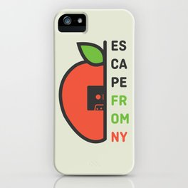 Escape From New York Minimalist iPhone Case