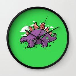 Steakosaurus Wall Clock