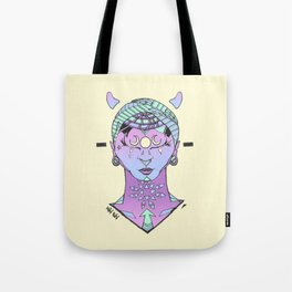 Lunar Download Tote Bag