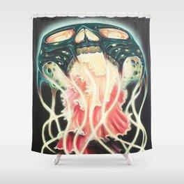 Skullyfish Shower Curtain