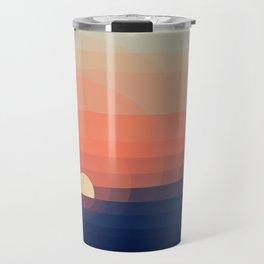 Colors Sunset Travel Mug