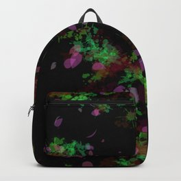 a touch of abstract art Backpack