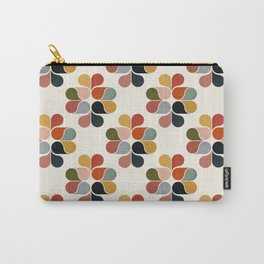 Retro geometry pattern Carry-All Pouch