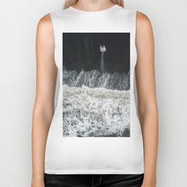 Mother Earth and her Child Biker Tank