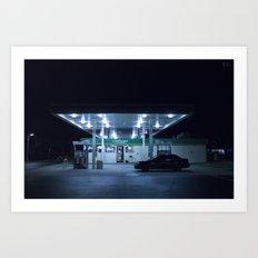 (gas'N'glow) Art Print