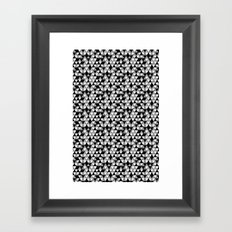 Drawn Triangles 03  Framed Art Print