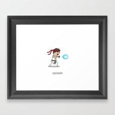 Hadouken! Framed Art Print