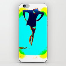 Woman Emerging (h) iPhone & iPod Skin
