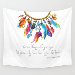 Tribal Adornment Wall Tapestry