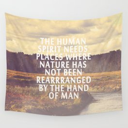 The Human Spirit Wall Tapestry