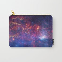 Galaxy in red'Blue Carry-All Pouch