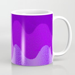 Under the Influence (Marimekko Curves) Crepe Myrtle Coffee Mug