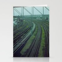 russia Stationery Cards featuring Russia. Railway. by Slava Joukoff